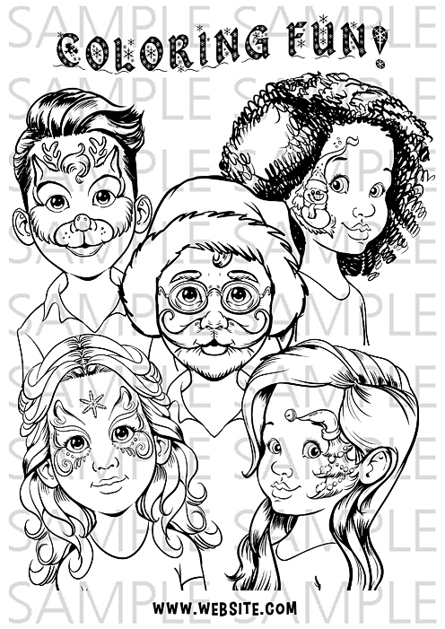 Christmas In Norway coloring page   Free Printable Coloring Pages   701x496