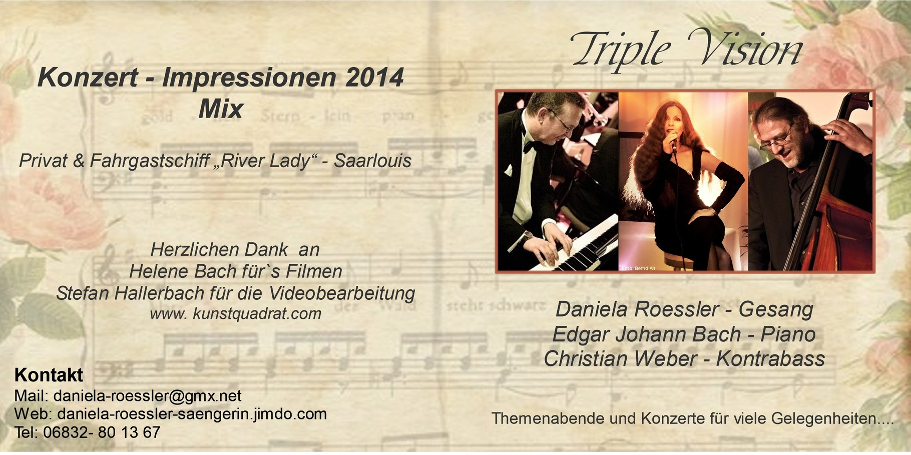 Triple Vision - Konzert-Video