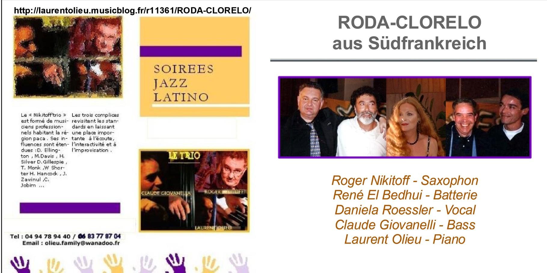 Roda Clorelo - Jazz aus Südfrankreich