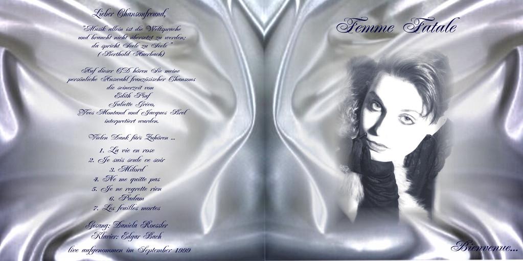Daniela Roessler singt französische Chansons