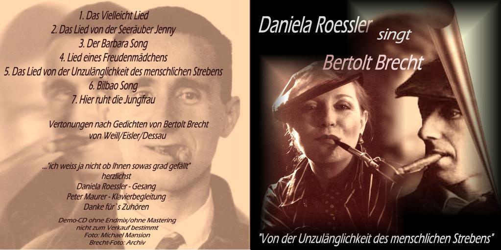 Daniela Roessler singt Bert Brecht