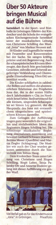 Hohenloher Tagblatt, 2. Nov. 2012, S.12 (Wiedergabe mit freundlicher Genehmigung)