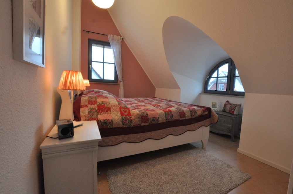 Gaubenzimmer im Obergeschoss