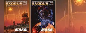 Exodus Magazin #40 und #41  - Mars Themenbände