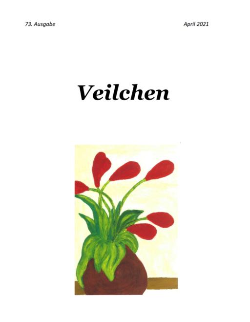 Veilchen #73  Literaturmagazin herausgegeben von Andrea Herrmann