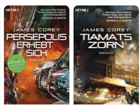 Expanse Bände 7 und 8 von James A. Corey