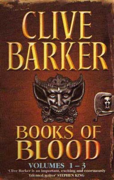Books of Blood 1-3 von Clive Barker