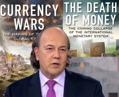 Economist and lawyer Jim Rickards