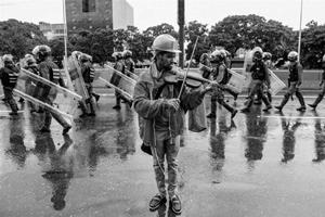 Venezuela street protest