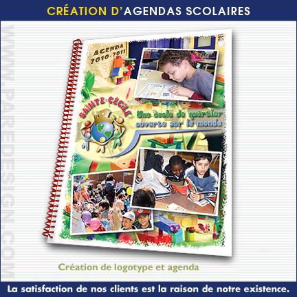 Création d'Agendas scolaires