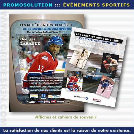 Création publicitaire pour événement sportif - PROMOSOLUTION