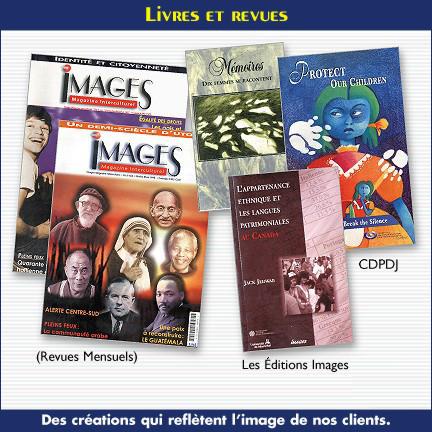 Catalogues, livres et revues pour IMAGES Intercuturelles