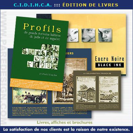 Brochures, livres et catalogues pour CIDIHCA