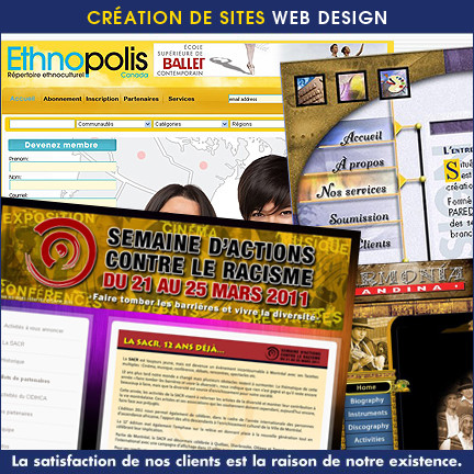 Création de sites Web par Paredesign