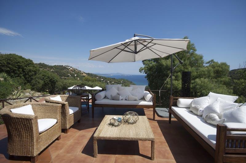 Location vacances, belle villa entre Begur et Sa Riera