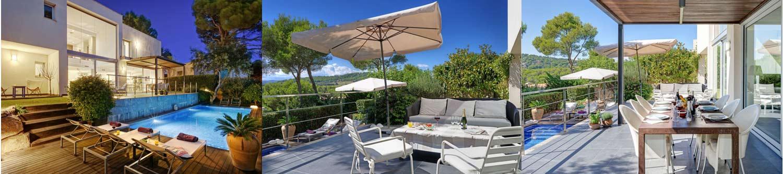 Belle villa avec piscine privée à louer pour les vacances à Tamariu