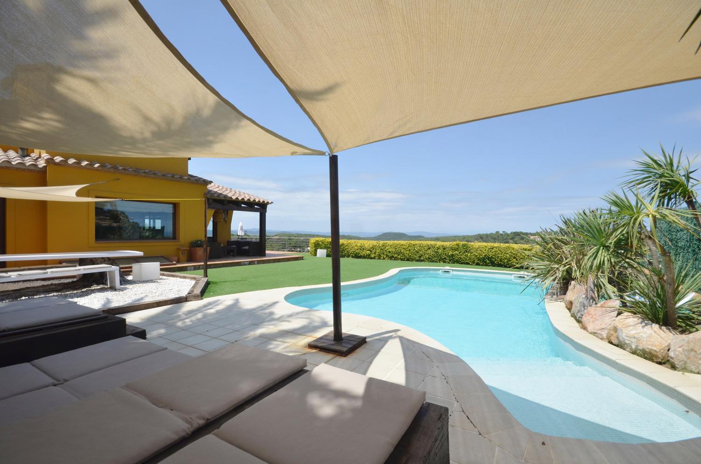 Belle maison avec piscine à louer sur la Costa Brava en Espagne