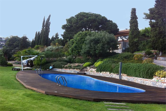 Belle villa avec piscine à louer sur la Costa Brava en Espagne