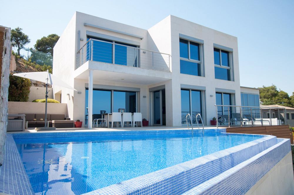 Belle villa à louer sur la Costa Brava en Espagne