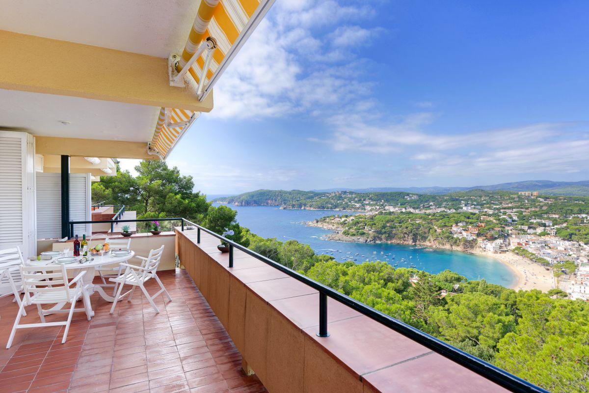 Appartement vue mer et piscine Llafranc