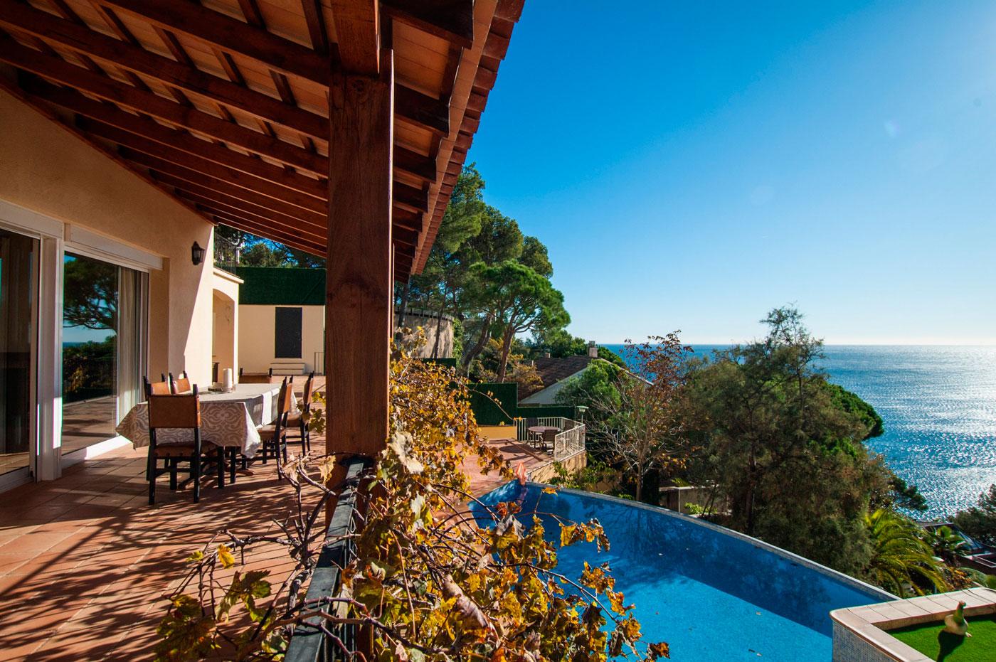 Belle maison à louer sur la Costa Brava en Espagne
