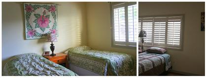清潔で可愛いベッドルーム