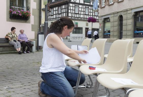Barbara Bergmann en préparation