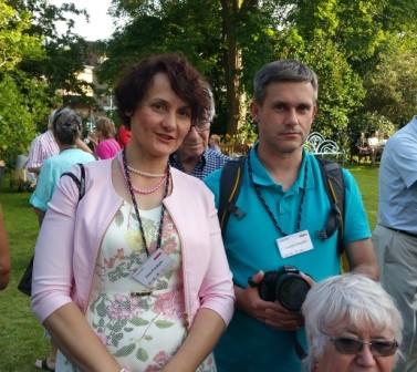 Ewa Przybyło et invité polonais