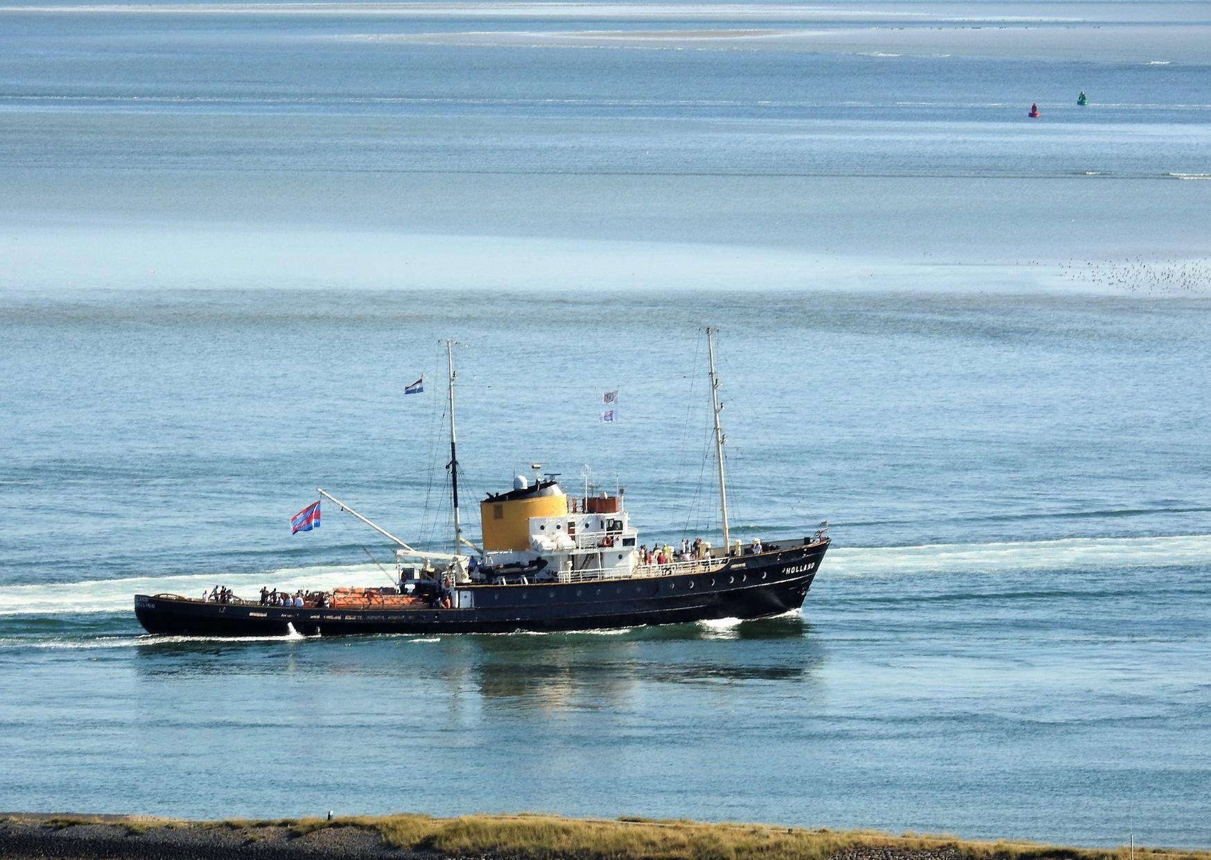 Zeesleepboot Holland door Peter van Suijlekom
