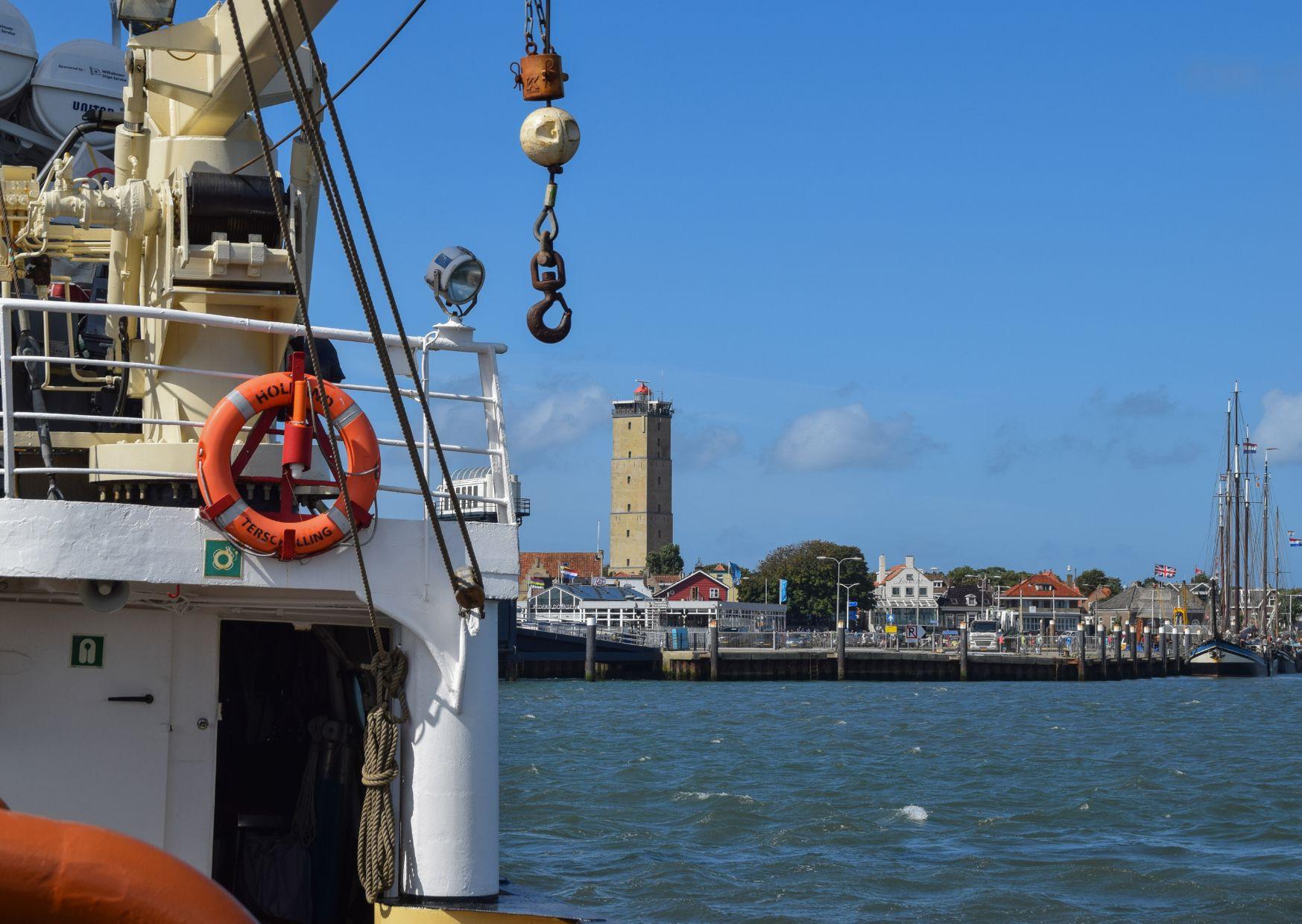 Zeesleepboot Holland door Jacoba de Graaf