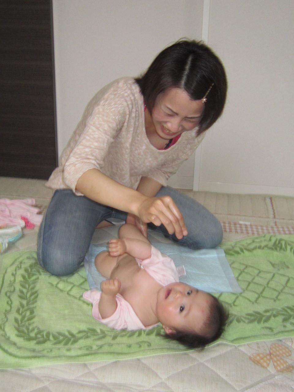 ママの笑顔ステキ♪