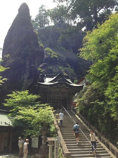 双龍門から榛名神社に参拝