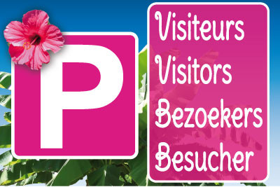 Parking visiteurs sur mesure