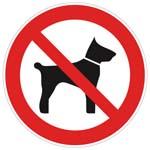 Panneaux et adhésifs Chien interdit