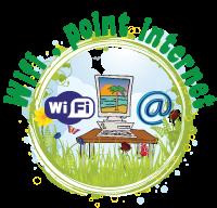 Panneaux wifi , point internet