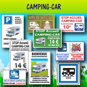 Panneaux et adhésifs camping-car