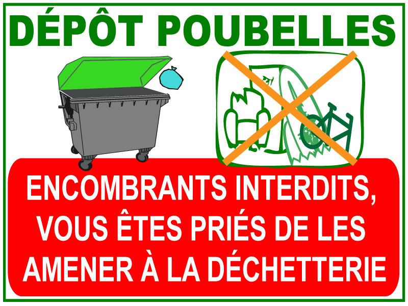 Poubelles Tri Jr Signaletic Panneaux Campings
