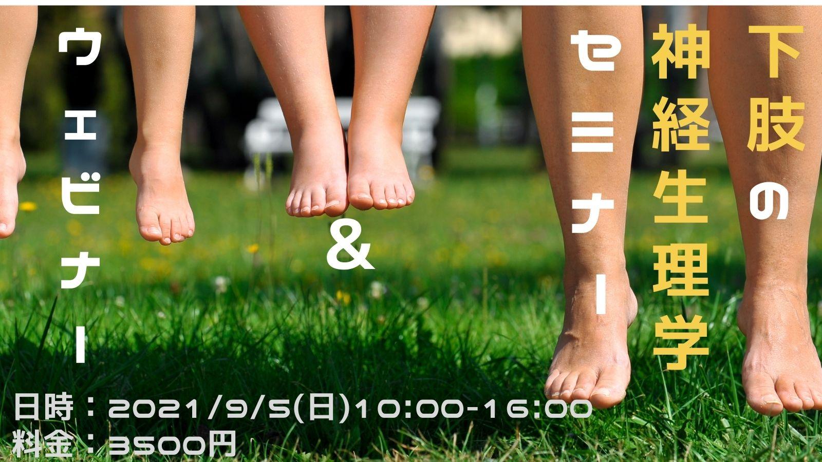 2021/9/05(日) 下肢の神経生理学セミナー・ウェビナーin 千葉