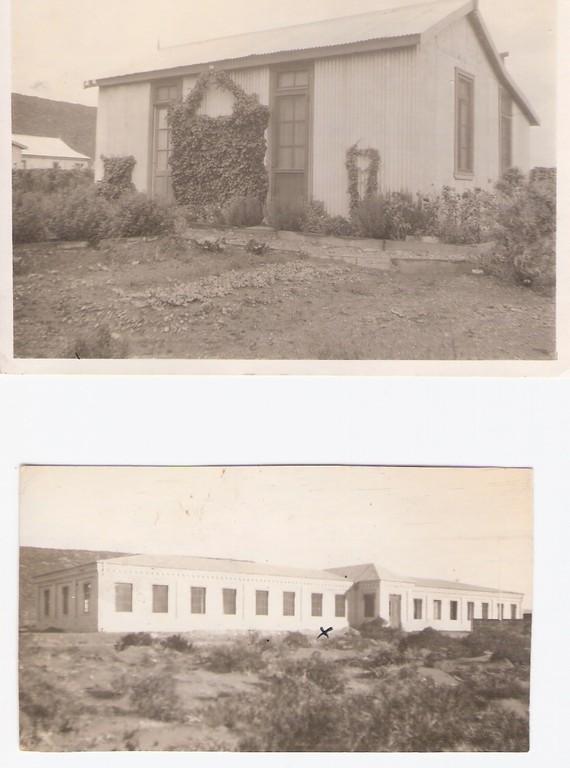 AÑO 1927:La casa donde despues estubo la estacion de tren, AÑO 1924: Abajo lo que ahora es la Galeria Covidiar