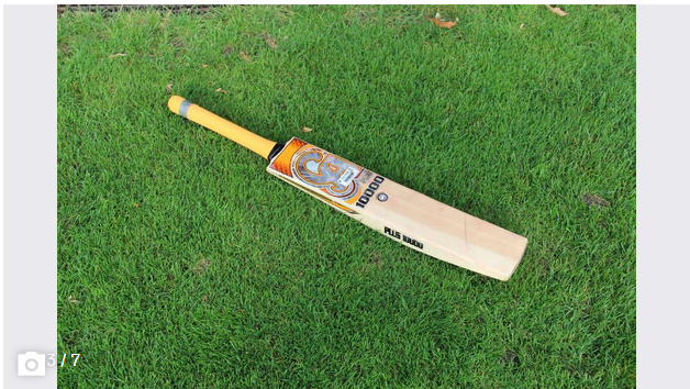 The wooden bat weighs between 1.1 and 1.4 kilograms and is almost one meter long. It is not only used to hit the ball, but the batter can also «defend» themselves. (Image: Tim Frei)