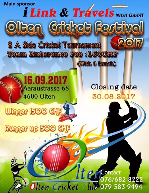 Olten Cricket Festival 2017