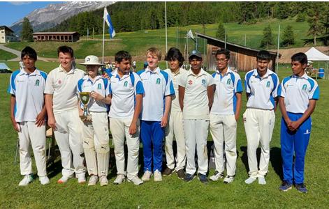 Cossonay U15s winners (Zuoz 12-13.6.2021)