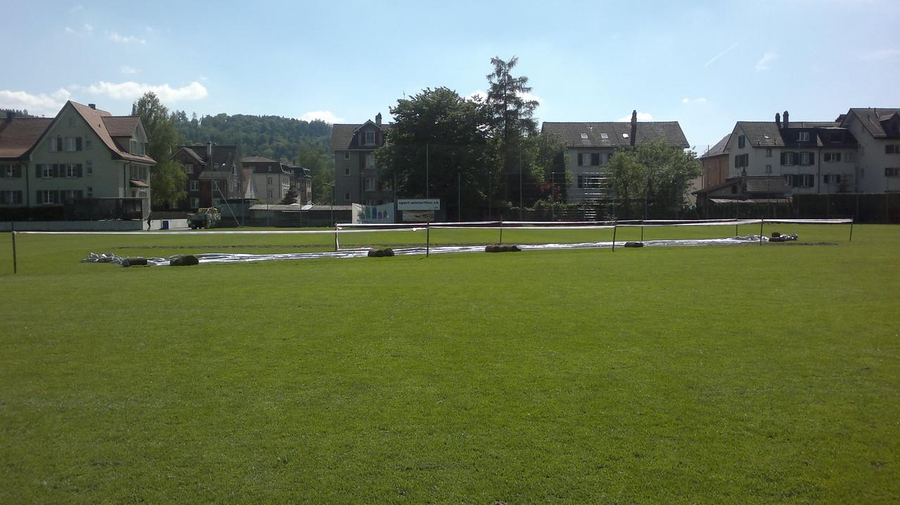 Sportpark Deutweg squared off