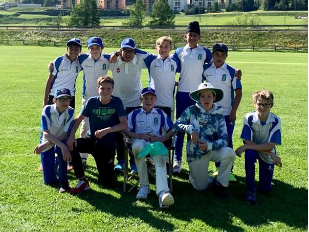 Zurich Crickets U13s winners (Zuoz 12-13.6.2021)