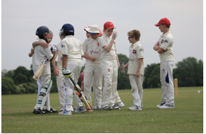 Swiss U11 cricketers