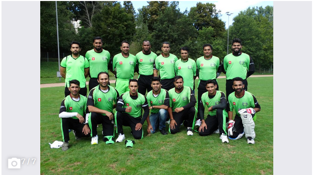 The St. Gallen Cricket Club team. (Picture: PD)