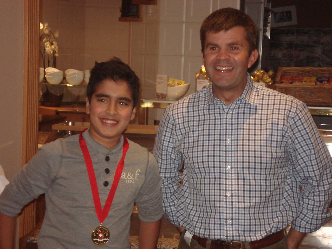 U13 Bob Barber Award Winner 2103: Rohan Jain