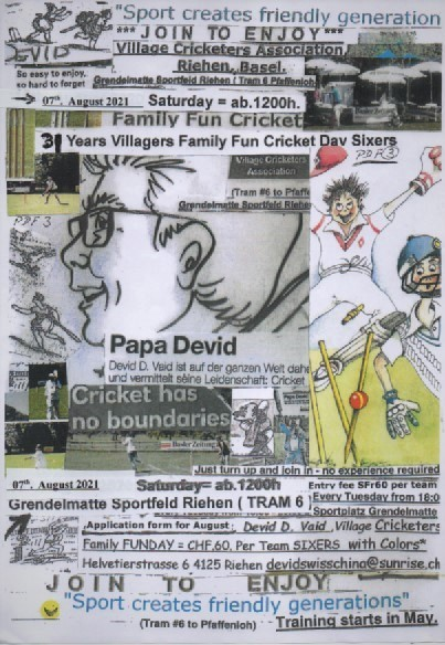 Village Cricketers Family Funday 2021