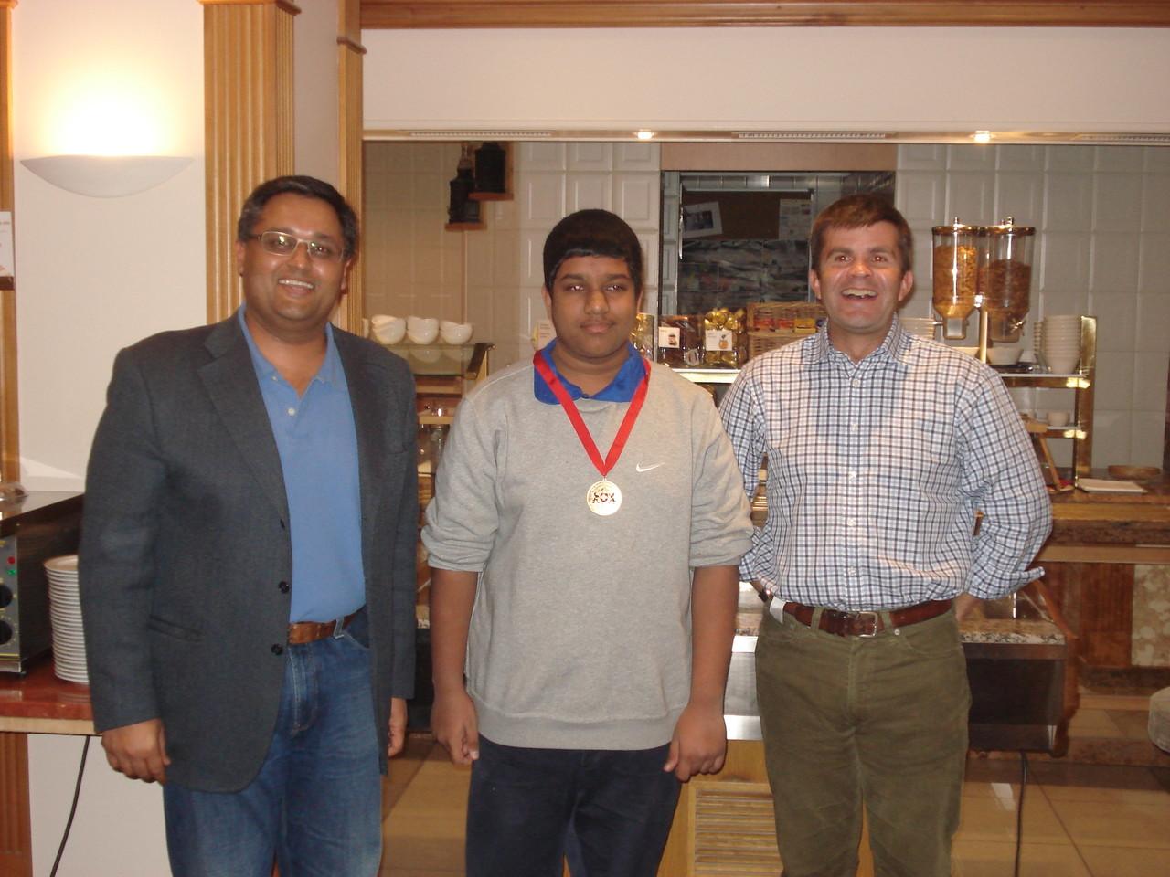 U15 Bob Barber Award Winner 2103: Marishque Puvimamasinghe