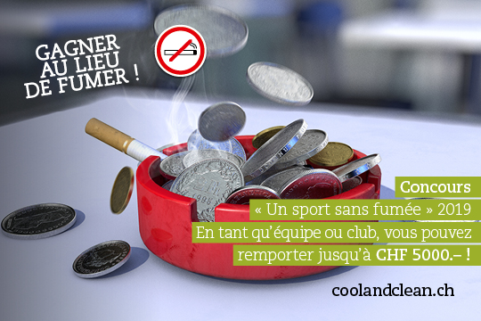 """Smoke free sport"" contest"